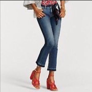 Kick it crop jeans